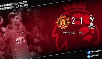 Report : Manchester United 2-1 Tottenham Hotspur