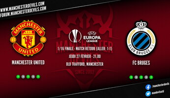 Preview : Manchester United - Club Bruges