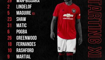 Compos : Manchester United - Bournemouth