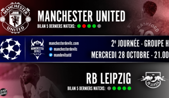 Preview : Manchester United - RB Leipzig