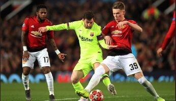 Man Utd 0 Barcelone 1 : United chute face à un petit Barça