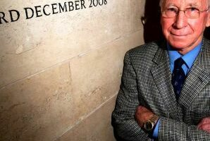 Sir Bobby Charlton honoré