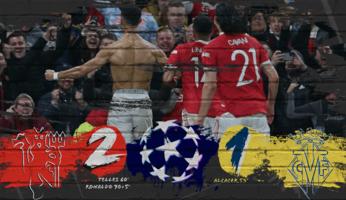 Manchester United 2-1 Villarreal : le résultat sans le style