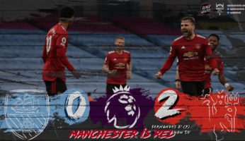 Manchester City 0-2 Manchester United : YES WE CAN