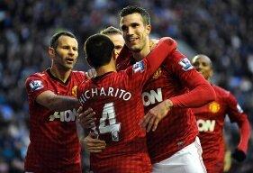 Report : Wigan 0 United 4