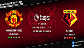 Preview : Manchester United - Watford