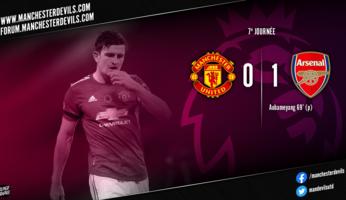 Manchester United 0-1 Arsenal : plus bas, c'est le néant