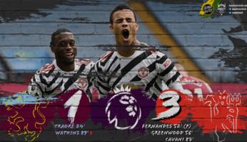 Aston Villa 1-3 Manchester United : laborieux, mais les trois points quand même