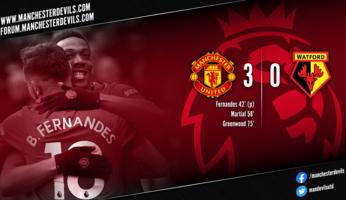 Manchester United 3-0 Watford : l'abeille assomme le frelon