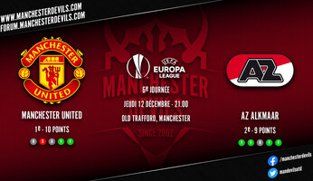 Preview : Manchester United - AZ Alkmaar