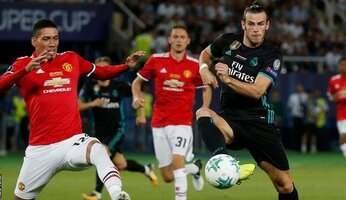 Report : Real Madrid 2 United 1