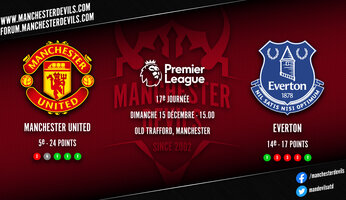 Preview : Manchester United - Everton