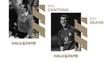 Cantona et Keane entrent au Hall of Fame de la Premier League