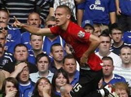 Report : Everton 0 United 1