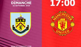 Preview : Burnley vs Manchester United