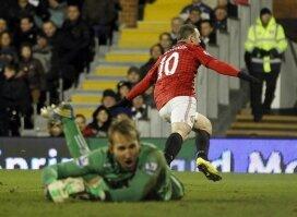 Report : Fulham 0 United 1