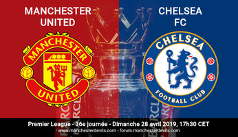 Compositions : Manchester United vs Chelsea