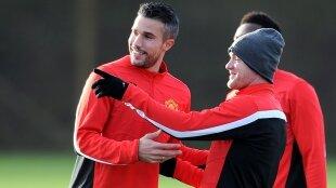 Rooney, RvP et Fellaini s'entraînent