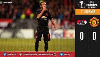 Alkmaar 0 Man Utd 0 : United s'en sort bien