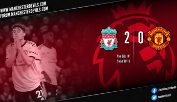 Liverpool 2-0 Manchester United : les Scousers trop forts pour United