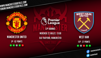 Preview : Manchester United - West Ham