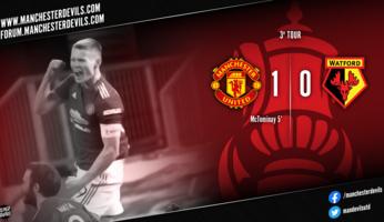 Manchester United 1-0 Watford : service minimum pour la qualification