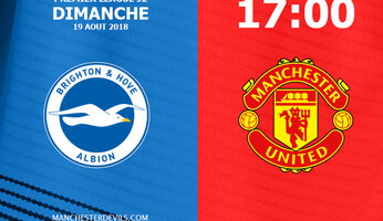 Preview : Brighton & Hove Albion vs Manchester United