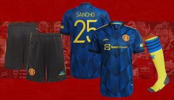 Le troisième maillot 2021-2022 de Manchester United officialisé