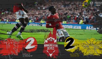 Manchester United 2-2 Brentford : sous la pluie, les buteurs régalent
