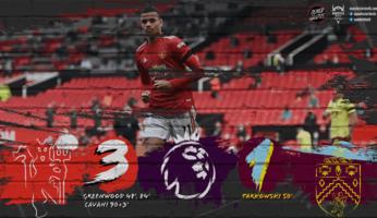 Manchester United 3-1 Burnley : United à nouveau convaincant !