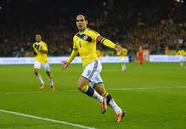 Falcao buteur pour la Colombie