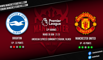Preview : Brighton - Manchester United