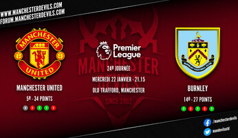 Preview : Manchester United - Burnley