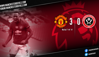 Report : Manchester United 3-0 Sheffield United