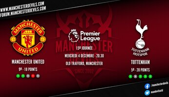 Preview : Manchester United - Tottenham Hotspur