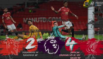 Manchester United 2-4 Liverpool : pas assez bons, tout simplement