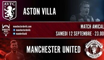 Un amical face à Aston Villa prévu ce samedi