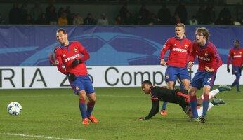 Report : CSKA Moscou v United