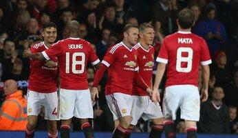 Report : United 3 Ipswich 0