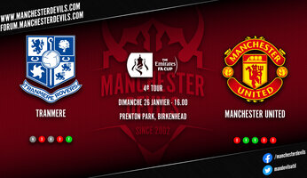 Preview : Tranmere Rovers - Manchester United
