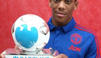 Martial, joueur du mois de septembre (Barclays)