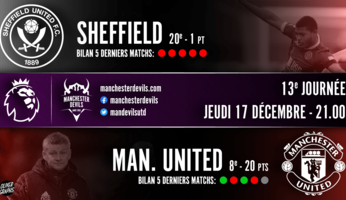 Preview : Sheffield United - Manchester United