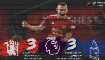 Manchester United 3-3 Everton : un Everton réaliste profite du sabordage des Red Devils