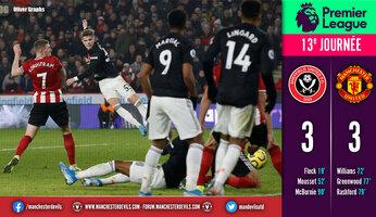 Sheffield United 3 Manchester United 3 : scénario inexplicable à Bramall Lane