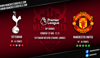 Preview : Tottenham Hotspur - Manchester United