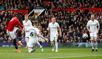 United 2 Swansea 0 : des Swans vite pliés