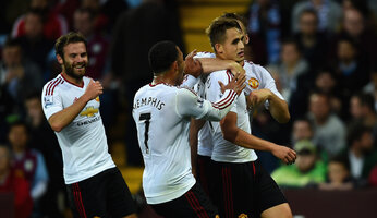 Report : Aston Villa 0 United 1