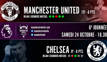 Preview : Manchester United - Chelsea