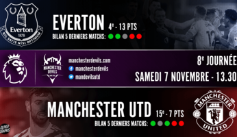 Preview : Everton - Manchester United