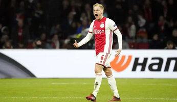Accord entre United et l'Ajax pour Donny van de Beek
